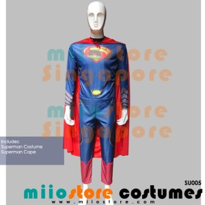 Superman Premium Costumes - SU005 - miiostore Costumes Singapore