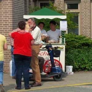 authentieke ijscokar sociale werkplaats Nijmegen