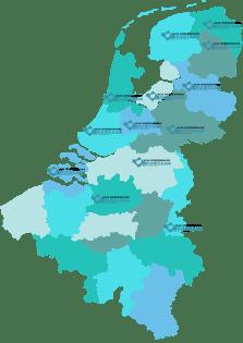 Mijn Onderneming Duurzaam is actief in Nederland en België. Neem contact op voor een adviseur in uw regio. Ook voor andere vragen kunt u contact opnemen.