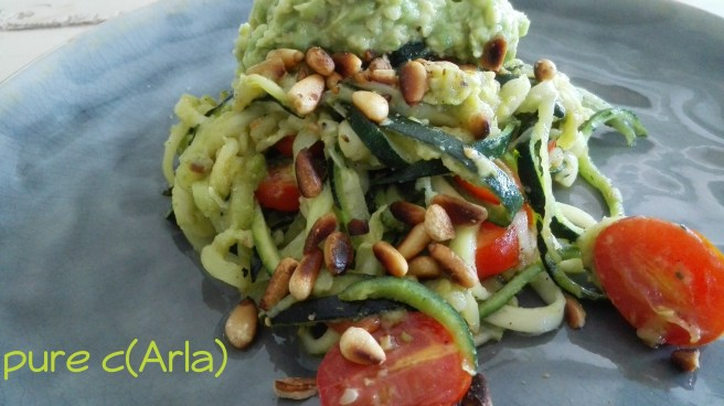 zucchini avocado