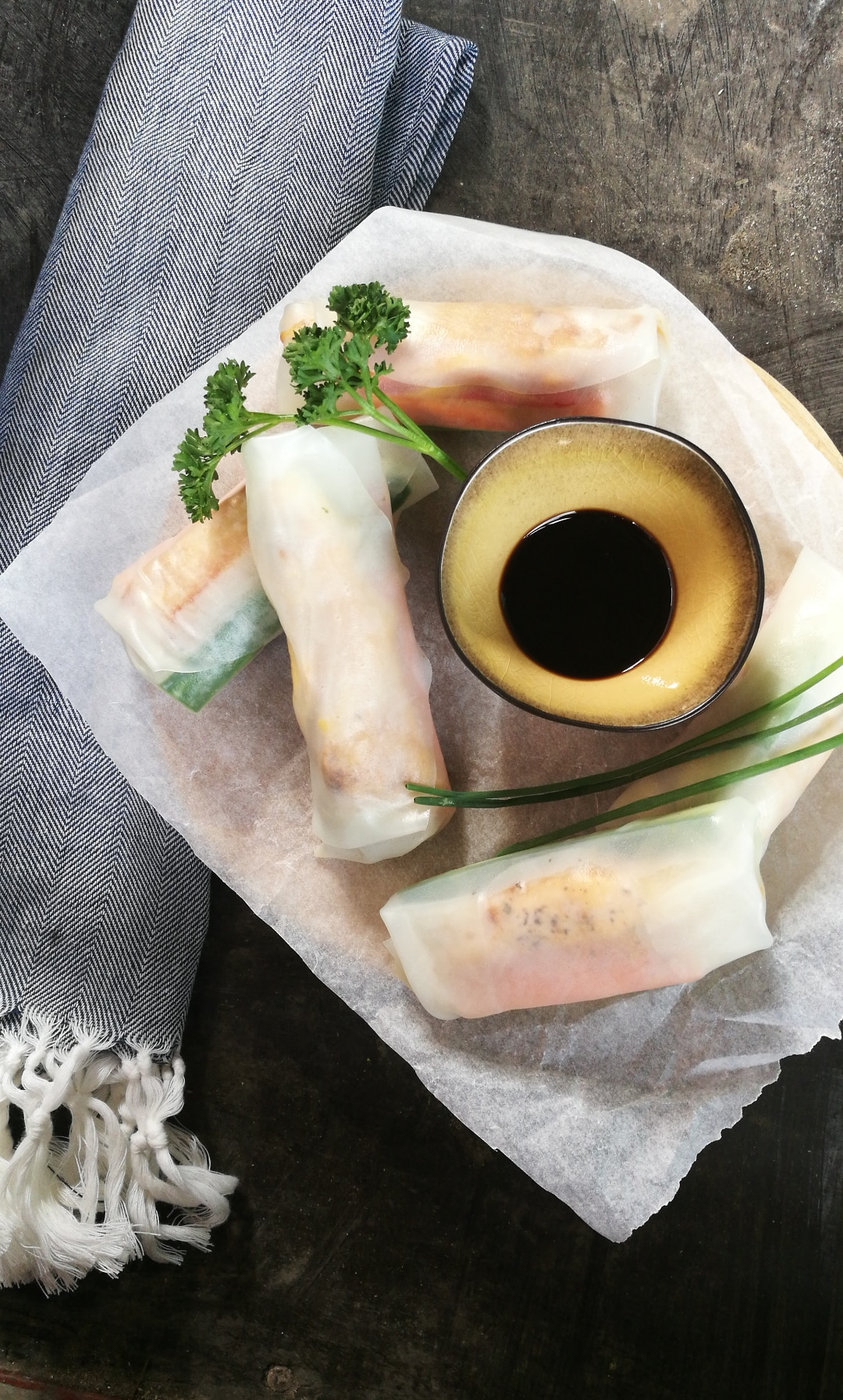 springrolls in summertime