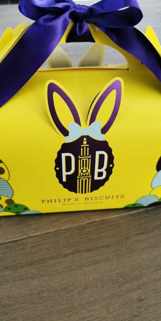 paaspakket van Philip's Biscuits
