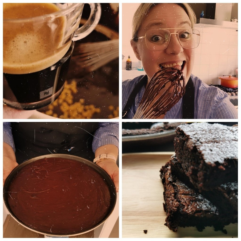 brownie, the making of