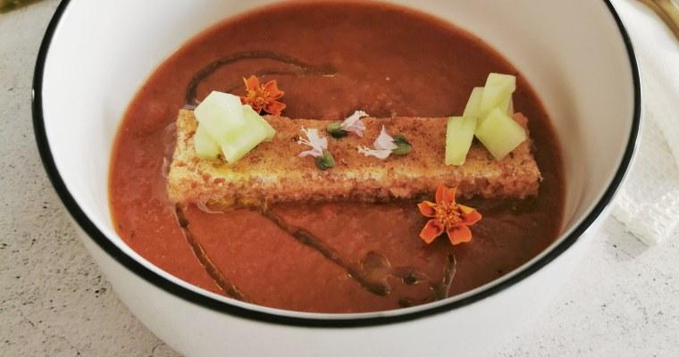 gazpacho, de lekkerste soep bij hittegolf