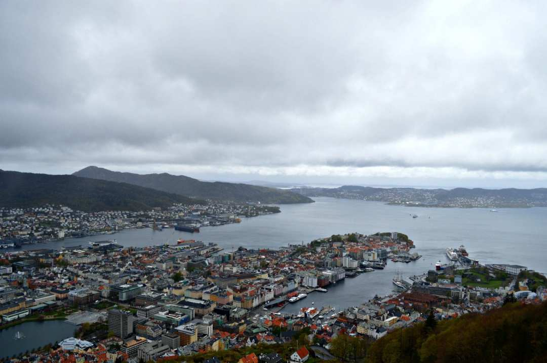 Bezienswaardigheden in Bergen Noorwegen