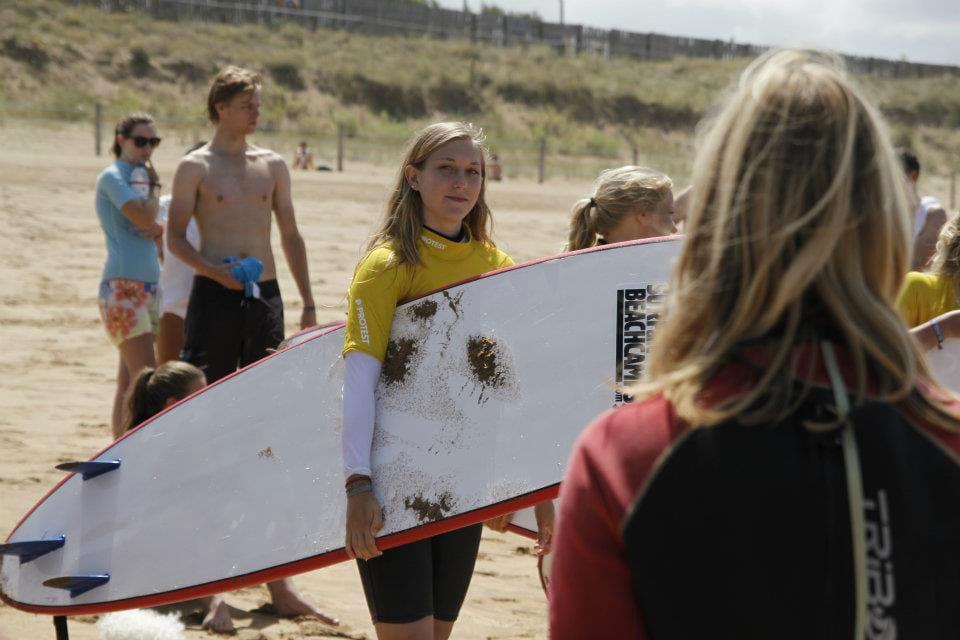 Surfen Zarautz