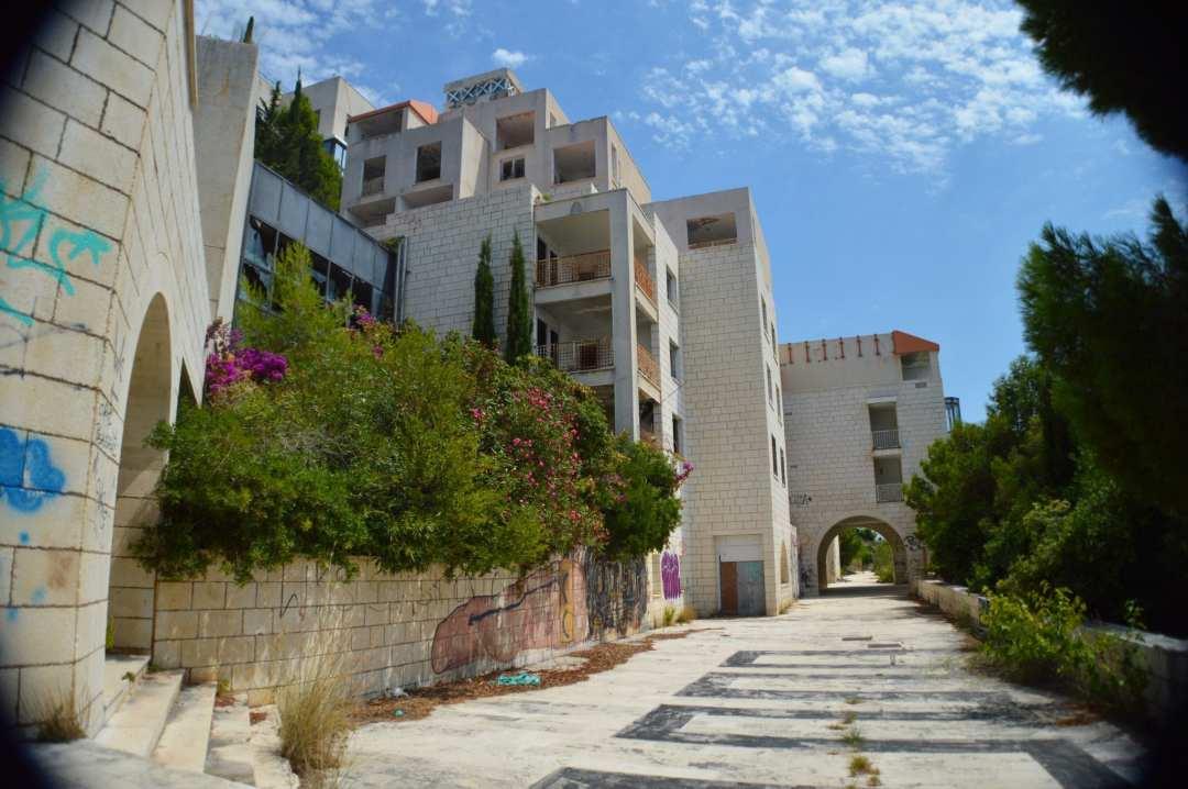 Verlaten Hotel Dubrovnik