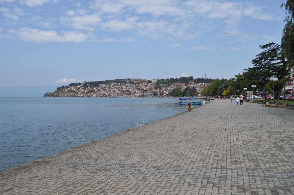 Lake Ohrid Macedonië