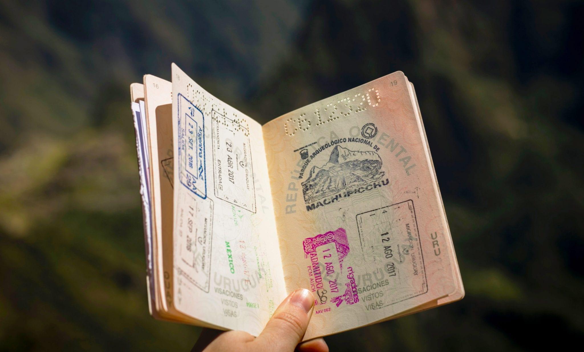 Passport visum voor Sri Lanka