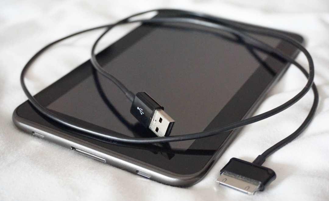 Tablet foto's bewaren op reis