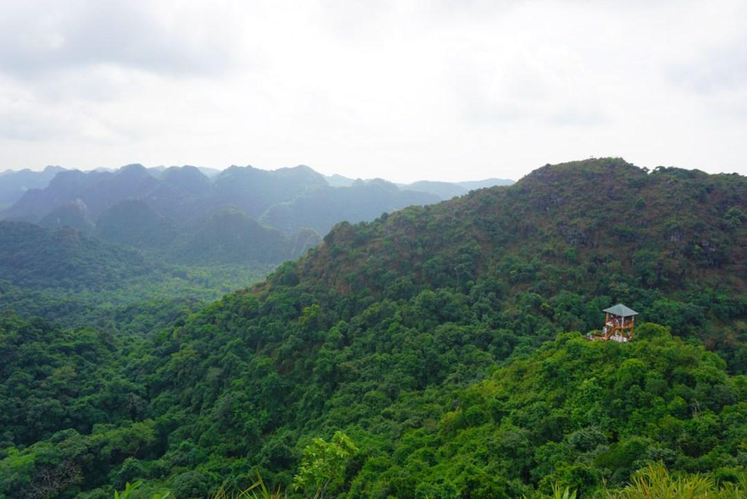 Cat Ba National Park Uitzicht
