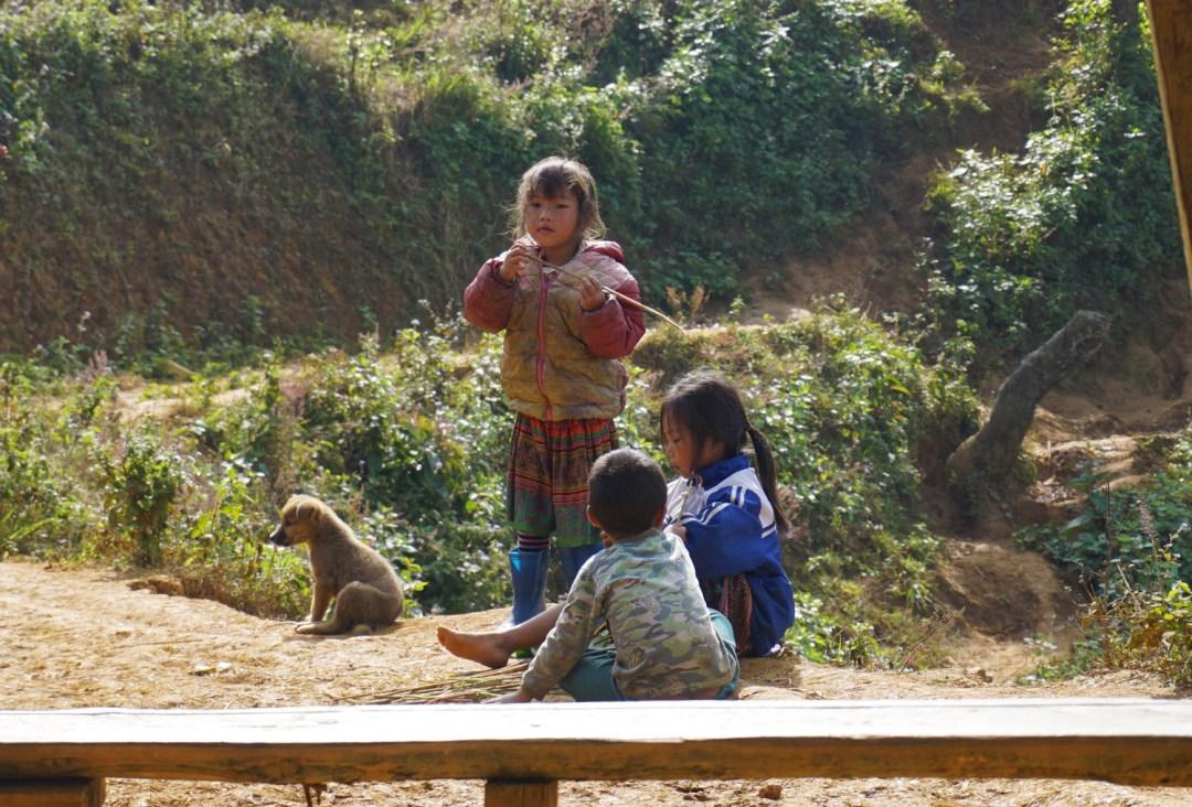 kinderen in sapa