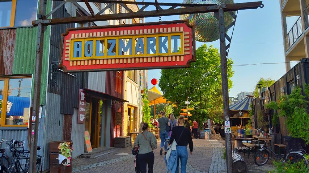 Holzmarkt Berlijn