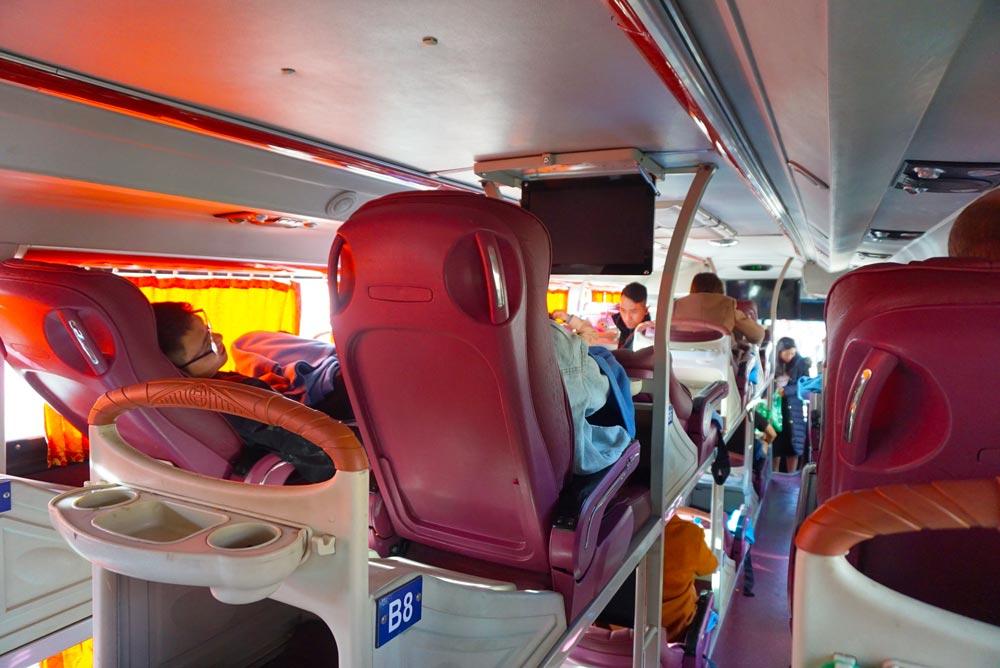 sleeperbus Vietnam