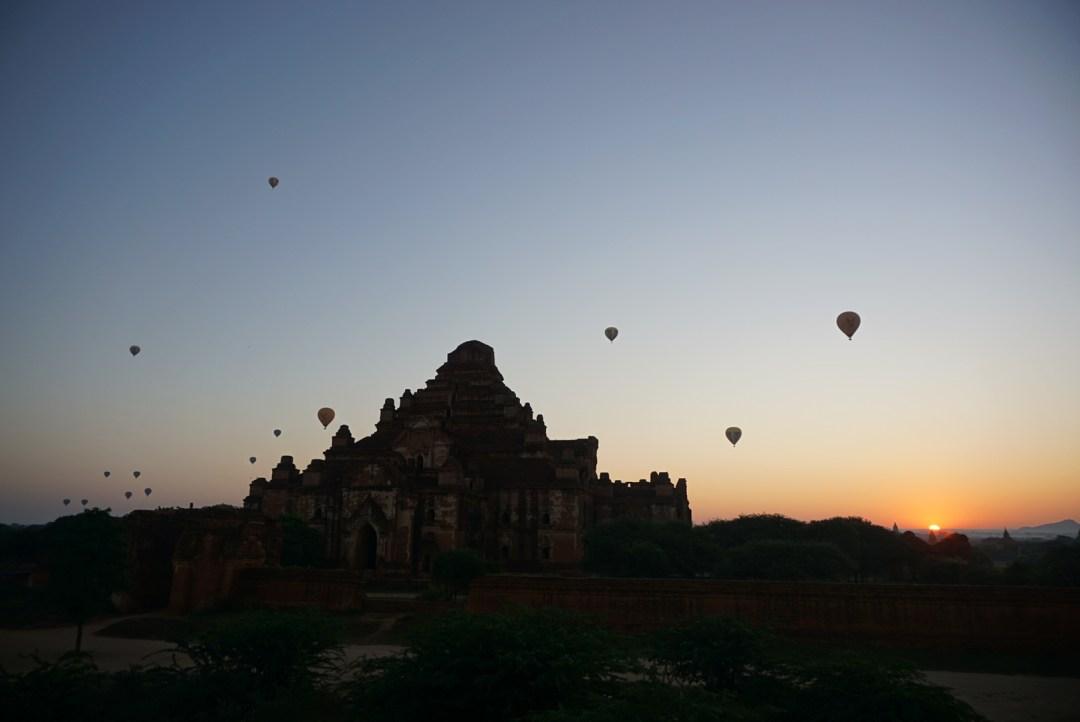Zonsopgang Bagan