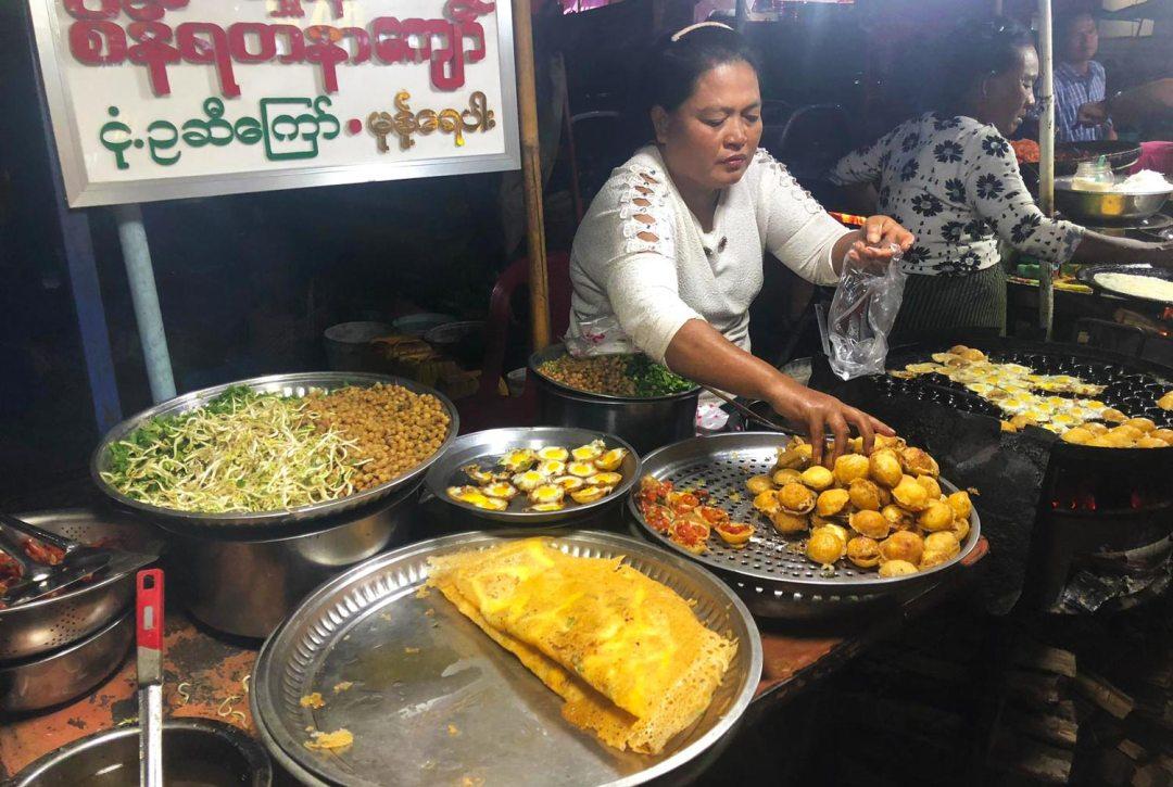 Taunggyi-festival Food Myanmar