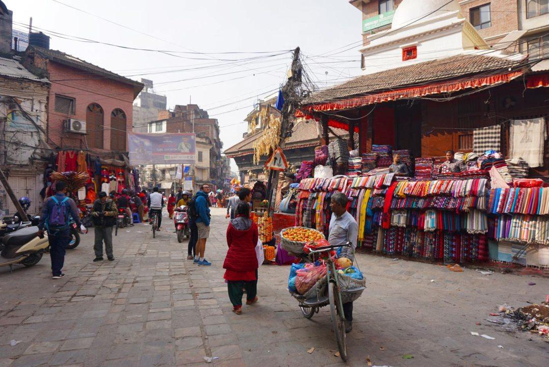 Kathmandu Nepal plein