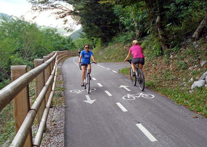 solkan, plave, fietspad, mijn slovenie