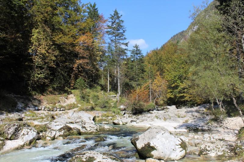 Mostnica kloof Julische Alpen - J. van Zoest