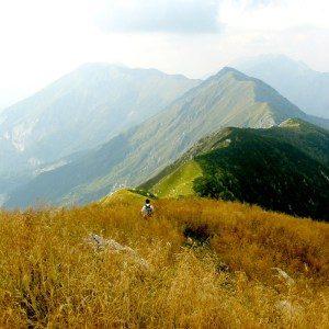 bergwandelen in Sloveense Alpen; bron Mijn Slovenië