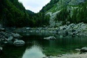 Zwarte meer, Triglav meeren, Julische Alpen, bron H. Vroon