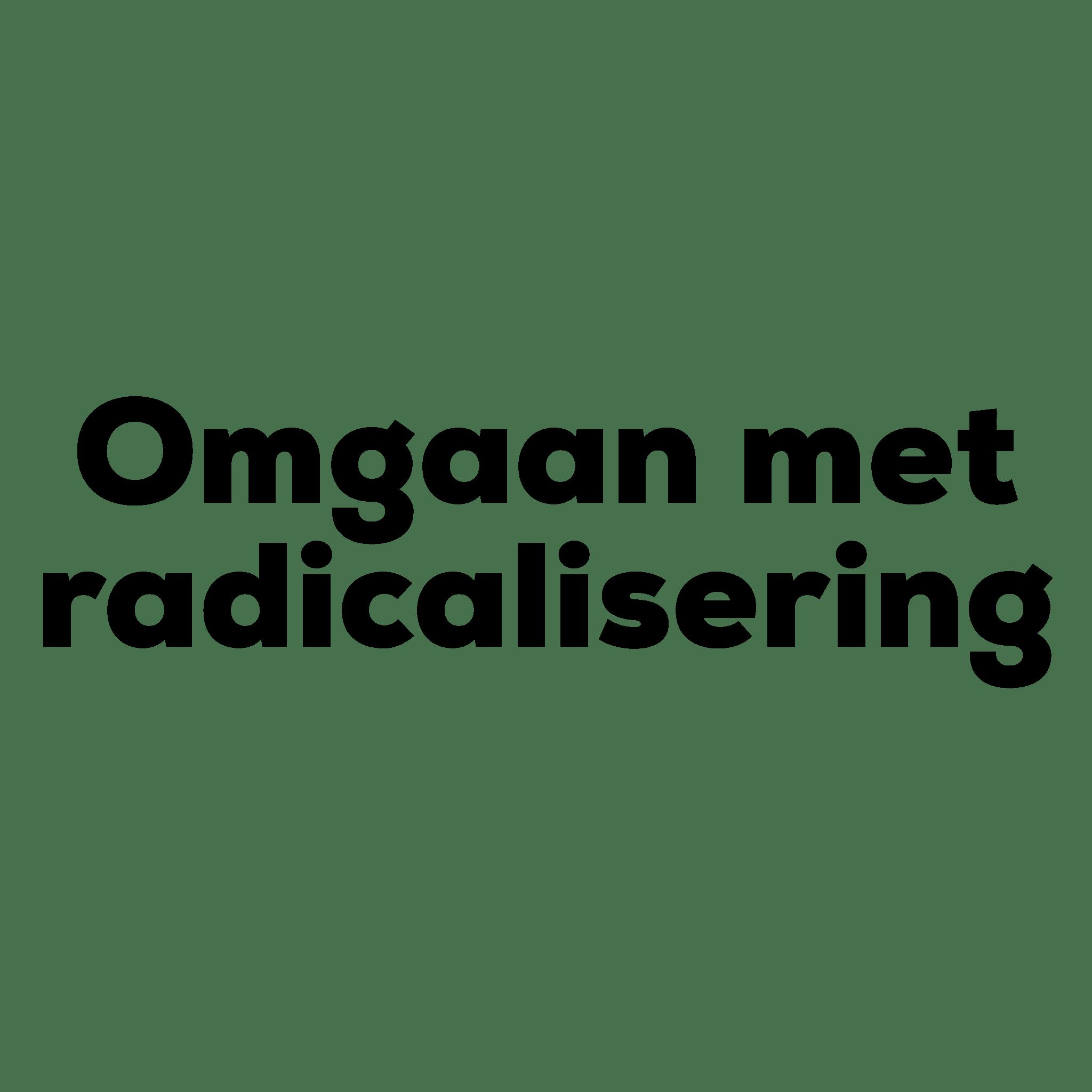 Training Omgaan met radicalisering op school