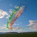 Göteborg Aero Show - Frecce Tricolori, italienska flygvapnets uppvisningsgrupp, står redo för start Add a caption Frecce Tricolori (italienska flygvapnets uppvisningsgrupp)