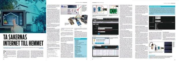 Ta sakernas internet till hemmet med MySensors, Domoticz, Arduino och Raspberry Pi