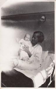 Edith og Rita på Usserød Sygehus sommeren 1938