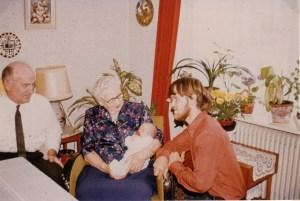 Gunnar, Mor, Gert og Lene
