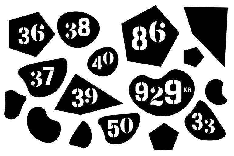 numerals_klatterlabbet