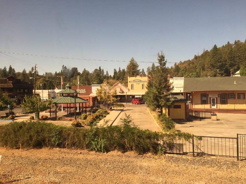 アムトラック車窓からの景色