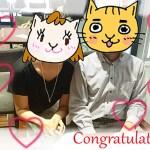 ご成婚おめでとうございます!素敵なカップル