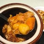 金香楼:横浜中華街お得ランチFile.43豚バラ肉の特製壷煮と豆腐煮