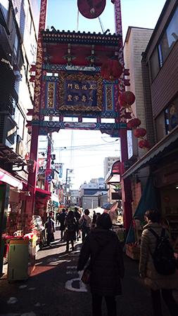 横浜中華街市場通り