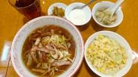 東珍味:横浜中華街お得ランチFile.57チャーシュー麺+半炒飯