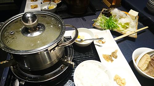 コラーゲン白湯海鮮鍋