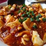 四五六菜館 別館:横浜中華街お得ランチ File.70麻婆豆腐、筍炒鶏片