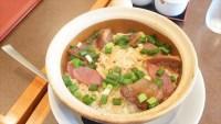 南粤美食:横浜中華街お得ランチ File.111/腸詰め干し肉貝柱釜飯