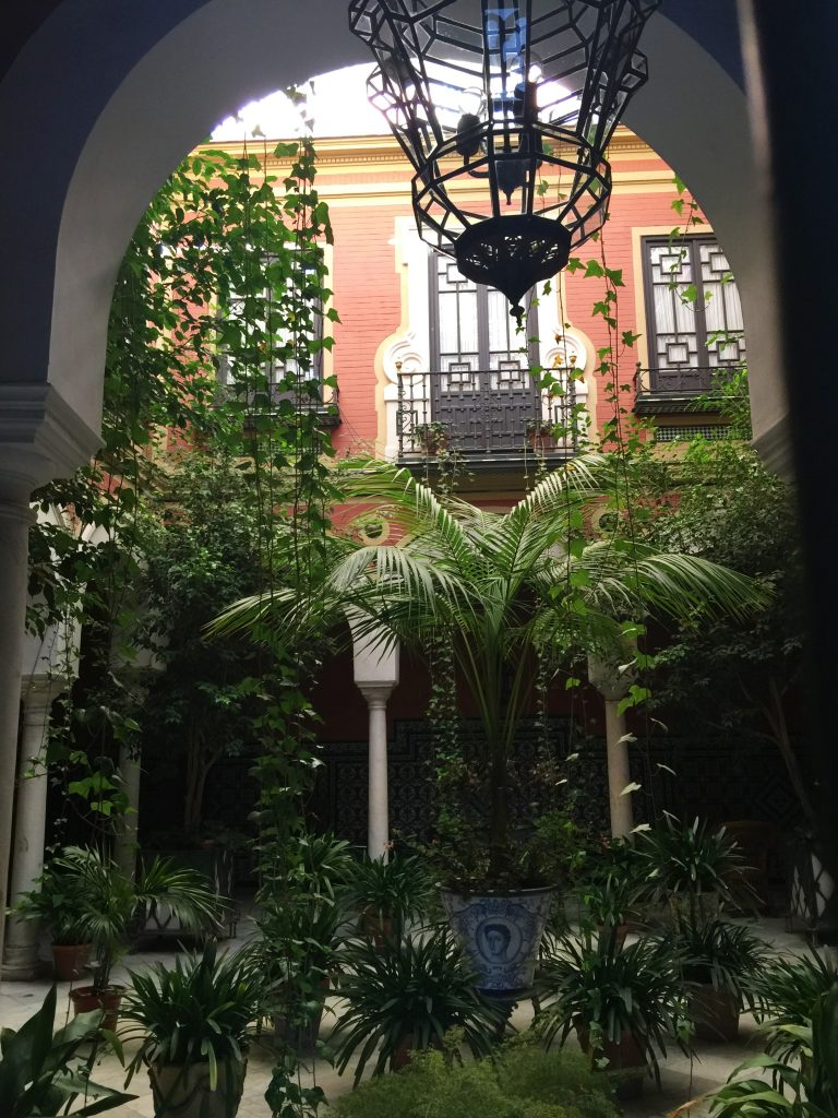 patio, Seville