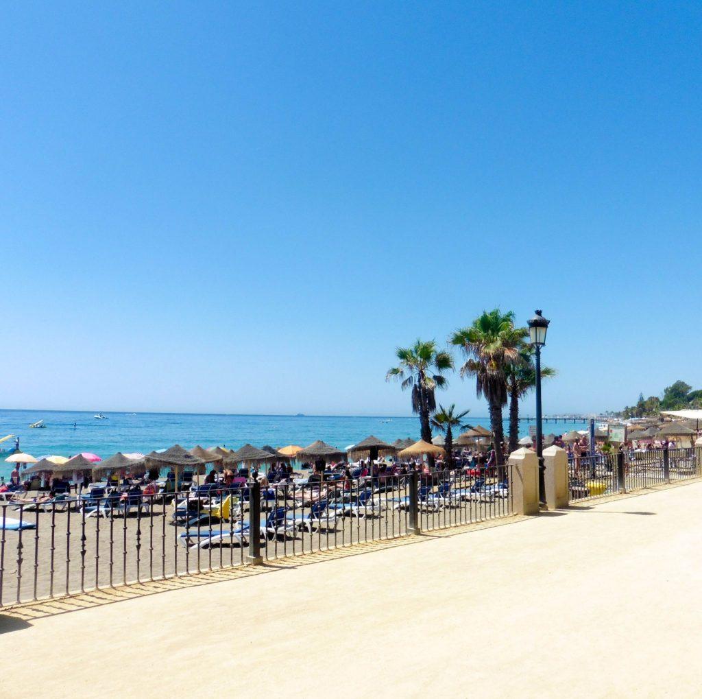 Marbella, plage