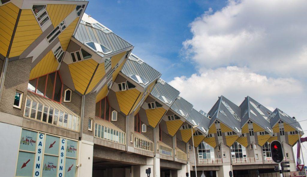 maisons cubiques Rotterdam
