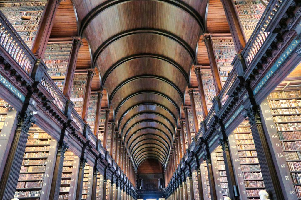 Bibliothèque Trinity College Dublin