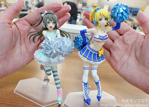 figFIX Eli Ayase & Kotori Minami: Cheerleader ver. (LoveLive!!)
