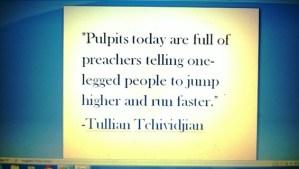 Pulpits today Tullian Tchividjian