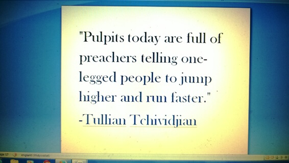 Pulpits today Tullian Tchividjian