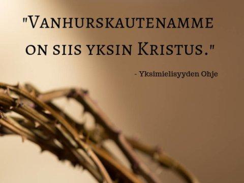Vanhurskautemme on Kristus