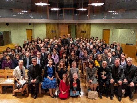 Kansanlähetyksen Japanin työn 50-vuotisjuhlakuva
