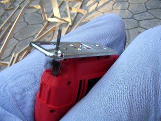 Running jigsaw. Stupid Idea.