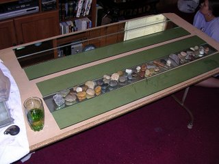 Cut glass for a fish tank